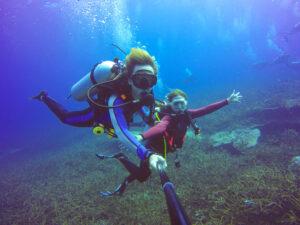 Scuba Diving With An Elite Escort